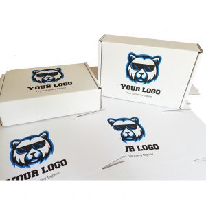 Boxes custom printed with your logo