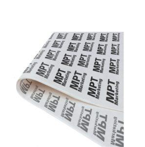 logo printed tissue paper